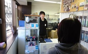 1.Visiting store / Bringing in